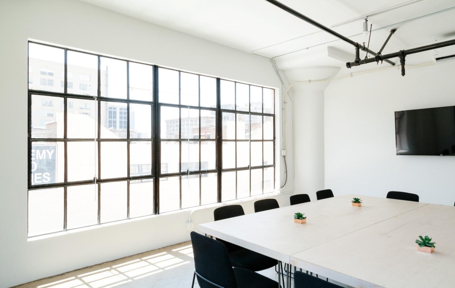 офис, open space, светло