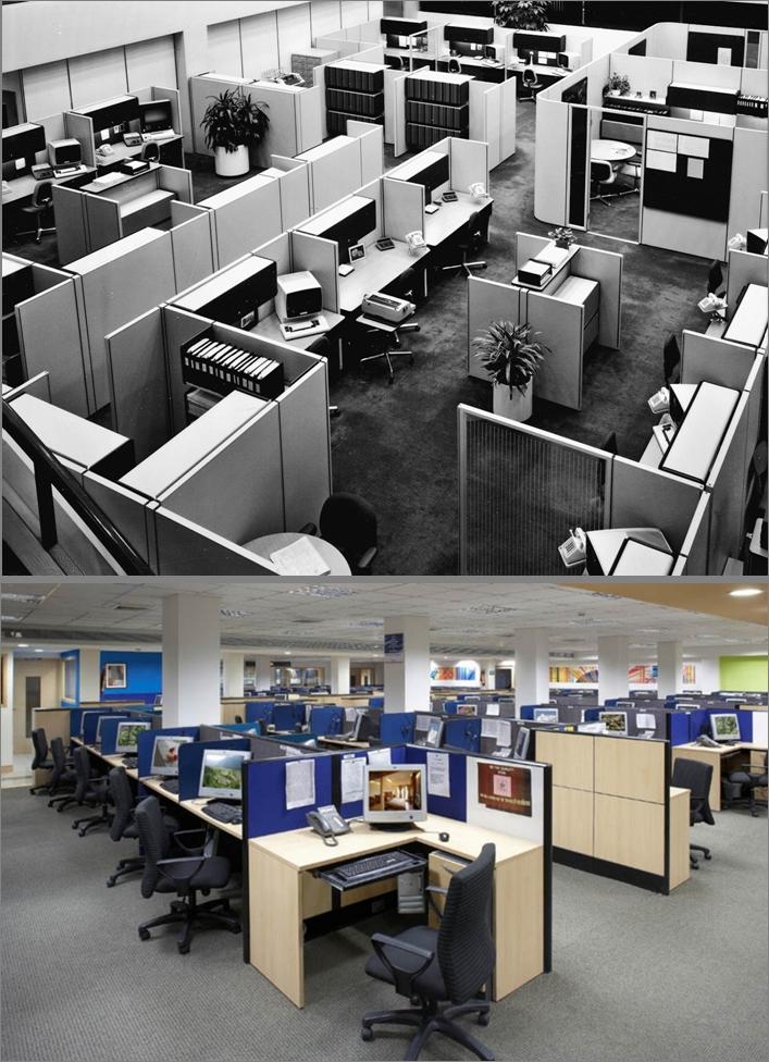 Использование офисного пространства в офисе